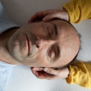 Craniosacral Therapy cranial hold